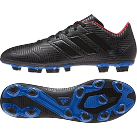 Sapatos de futebol adidas Nemeziz 18.4 FxG M D97991 preto multicolorido