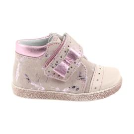 -de-rosa Sapatinhos de velcro Sapatinhos de bebê Ren But 1535 pink flamingos