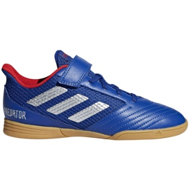Sapatos Indoor adidas Predator 19.4 Na Sala Jr CM8550 azul azul