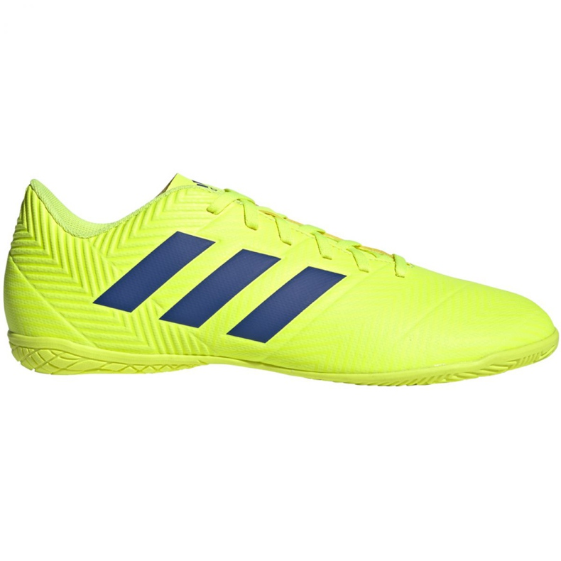 Sapatos de interior adidas Nemeziz 18.4 In M BB9469 amarelo amarelo