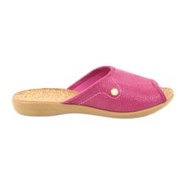 Sapatos femininos Befado pu 254D092 -de-rosa
