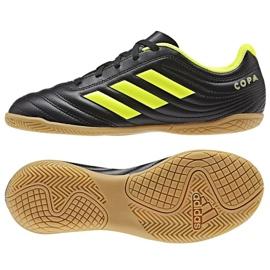 Sapatos de interior adidas Copa 19.4 In Jr D98095 preto preto