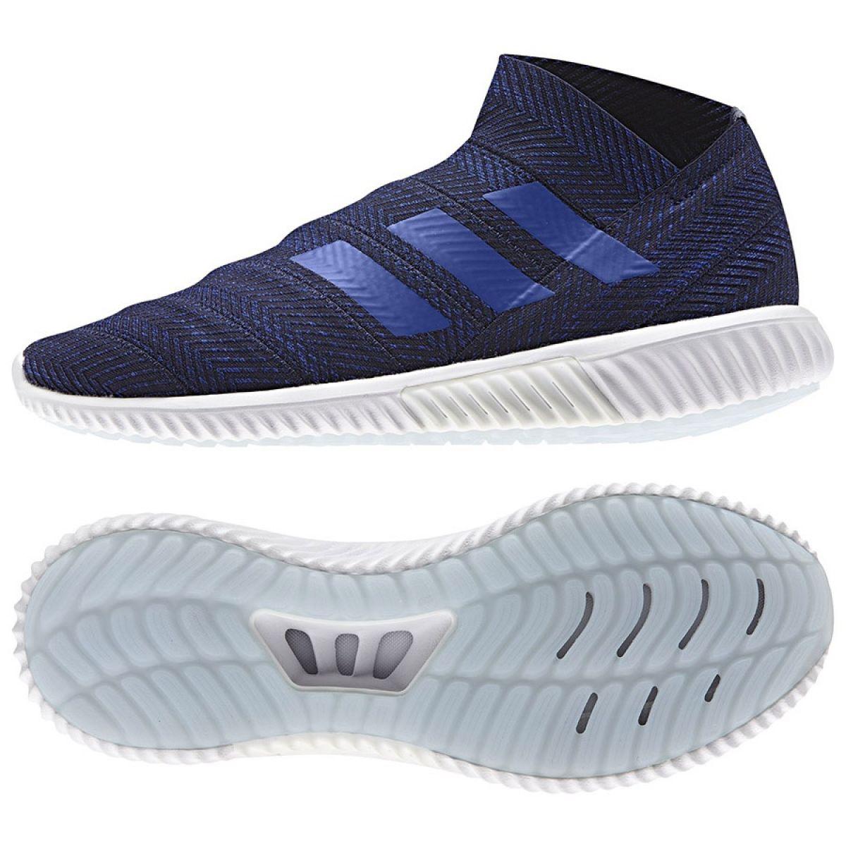 Sapatos de interior adidas Nemeziz 18.1 Tr M D98018 marinha azul marinho