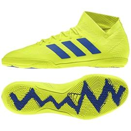 Sapatos de interior adidas Nemeziz 18.3 Em M BB9461 amarelo amarelo