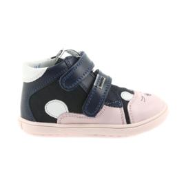 Botas sapatos crianças Velcro coelho Bartek 11702