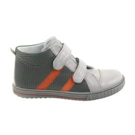 Ren But Sapatos Boote Botas de Velcro Infantil Ren 4275 Cinza / Laranja