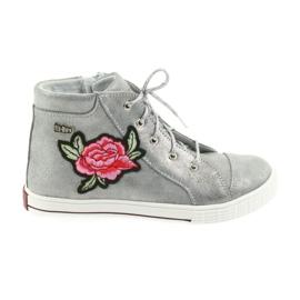 Ren But Sapatos sapato meninas prata Ren Mas 4279 cinza