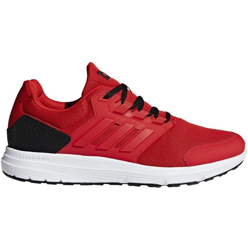 Tênis de corrida adidas Galaxy 4 M F36160 vermelho