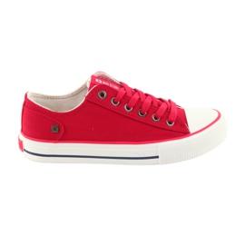 Tênis amarrado vermelho Big Star 274339