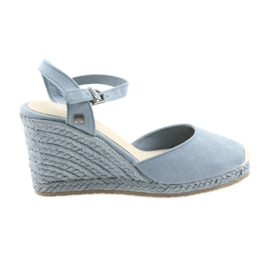 Big Star sandálias alpargatas 274A170 azul