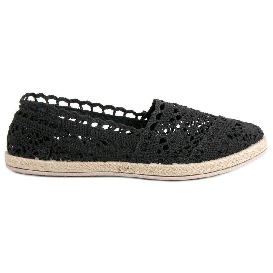 Sweet Shoes preto Alpargatas Pretas