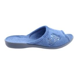 Azul Sapatos femininos Befado pu 256D003