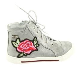 Ren But Sapatos sapato meninas prata Ren Mas 3237 cinza
