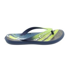 Sapatos infantis de chinelos Rider 82563 azul marinho