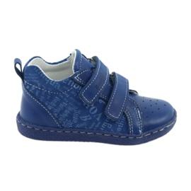 Ren But azul Calçado médico infantil com velcro Ren Mas 1429
