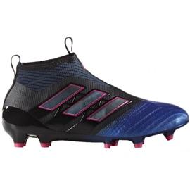 Sapatas de futebol Adidas Ace 17 + Purecontrol Fg Jr BA9819 preto preto