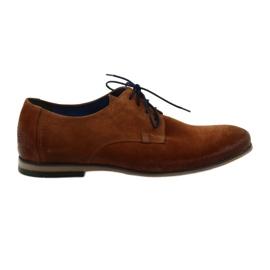 Sapatos de camurça para homem Nikopol 1709 Camel camede