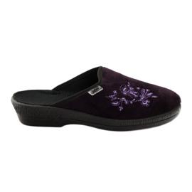 Sapatos femininos Befado pu 219D425 roxo