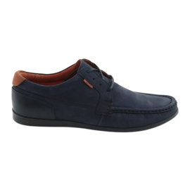 Badura Badge loafed 3175 azul marinho
