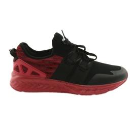Calçado desportivo para homem DK 18332 preto / vermelho