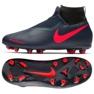 Sapatos Nike Fantasma Academia Vsn Df Fg Jr AO3287-440 azul marinha