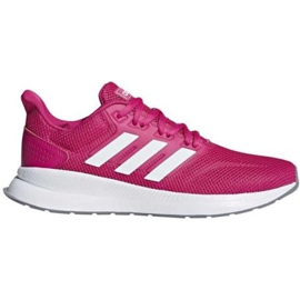 Sapatilhas de running adidas Runfalcon W F36219 -de-rosa