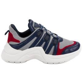 Kylie Calçados Esportivos Confortáveis azul