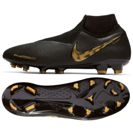 Sapatos de futebol Nike Phantom Elite Vsn Df Fg M AO3262-077 preto preto