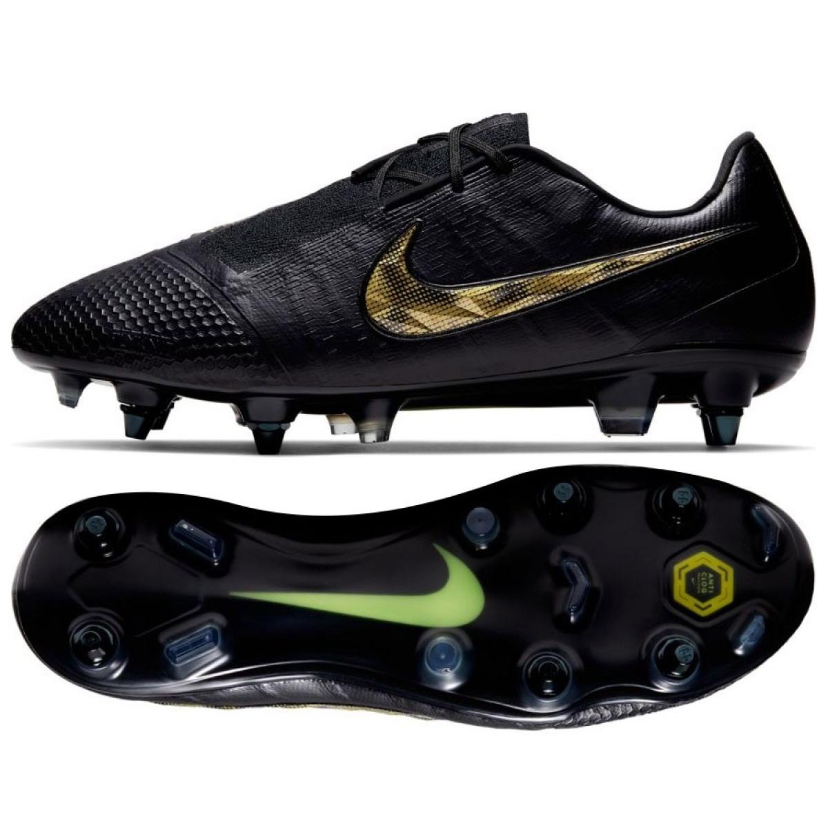 Botas de futebol Nike Phantom Venom Elite Sg Pro Ac M AO0575 077 preto preto