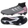 Chuteiras de futebol adidas Predator 19.3 Fg W F97528 cinza / prata cinza