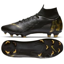 Sapatos de futebol Nike Mercurial Superfly 6 Pro Fg M AH7368-077 preto preto