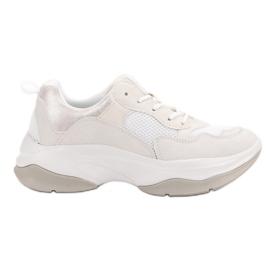 Kylie Sapatilhas brancas na moda branco