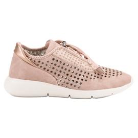 Aclys -de-rosa Sapatos Desportivos Leves