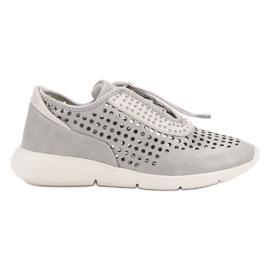 Aclys cinza Sapatos Desportivos Leves