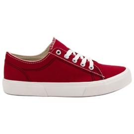 Kylie Sapatilhas vermelhas vermelho
