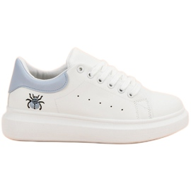 Kylie Sapatos Esportivos Elegantes branco
