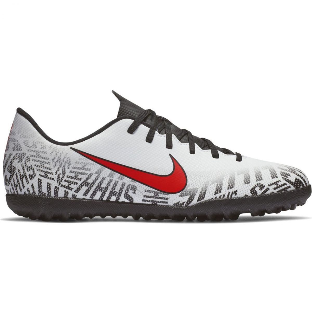 Nike Mercurial Vapor X 12 Clube Neymar Tf M AO3119 170 Tênis De Futebol cinza cinza prata