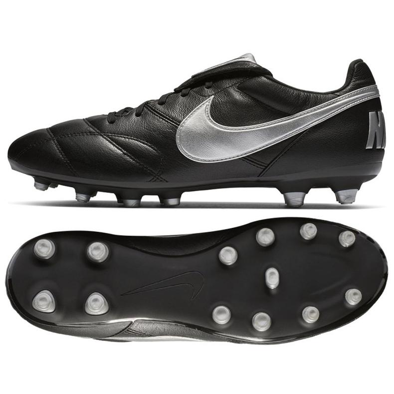 Sapatos de futebol Nike O Premier Ii Fg M 917803-011 preto preto