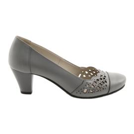 Sapatos femininos Gregors 745 cinza