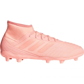 Chuteiras de futebol adidas Predator 18.2 FG M DB1998 -de-rosa