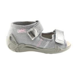Cinza Calçado infantil Befado 342P002 prateado
