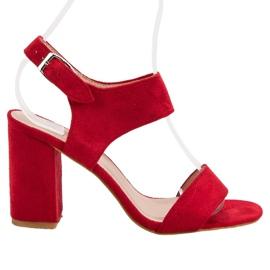 Vermelho Sandálias Vermelhas VINCEZA