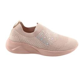 American Club calçados esportivos femininos AD05 rosa -de-rosa