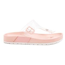 Seastar -de-rosa Chinelos Transparentes
