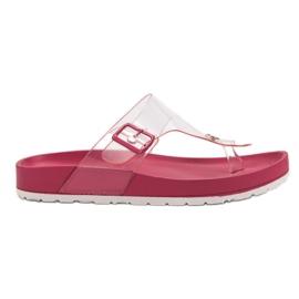 Seastar Chinelos Transparentes -de-rosa