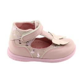 Ren But Bailarinas para meninas com arco Ren 1466 rosa -de-rosa