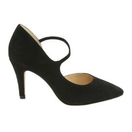 Sapatos femininos Caprice 24402 preto