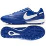 Sapatos de futebol Nike Tiempo Lunar LegendX 7 Pro 10R Tf M AQ2212-410 azul azul