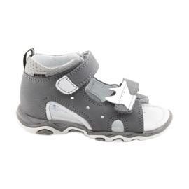 Sandálias meninos nabos Bartek 51489 cinza
