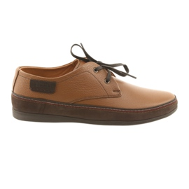 Marrom Sapatos masculinos Badura 3716 brown